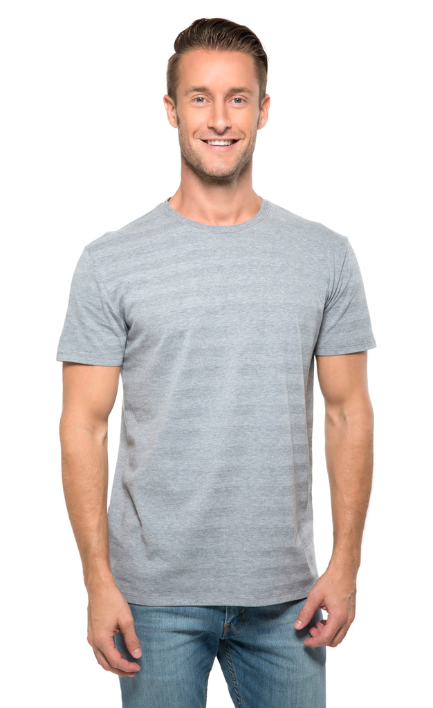 152A • Mens Invisible Stripe Short-Sleeve Tee