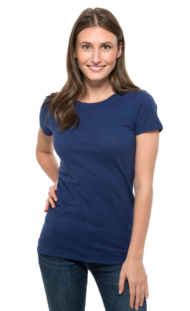 201A • Womens Slub Jersey Short-Sleeve Tee