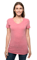 202B • Womens Triblend Short-Sleeve V-Neck Tee