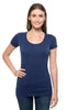 220S • Womens Spandex Short-Sleeve Scoop Neck Tee