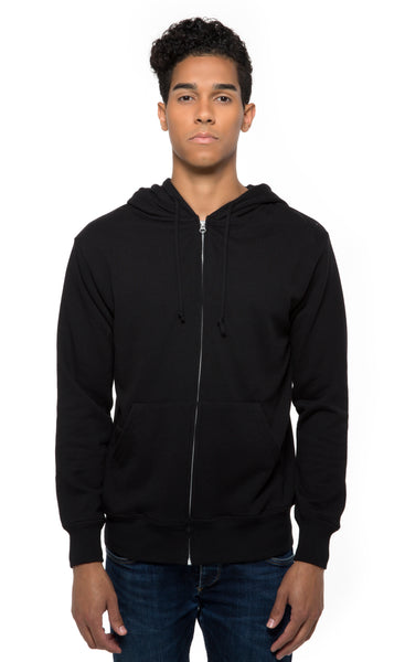 321Z • Unisex Triblend French Terry Full-Zip