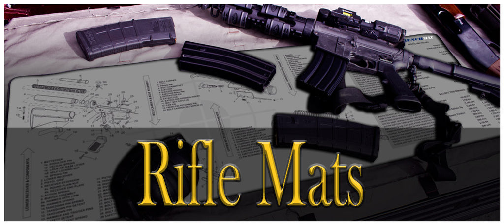 Rifle Cleaning Mats