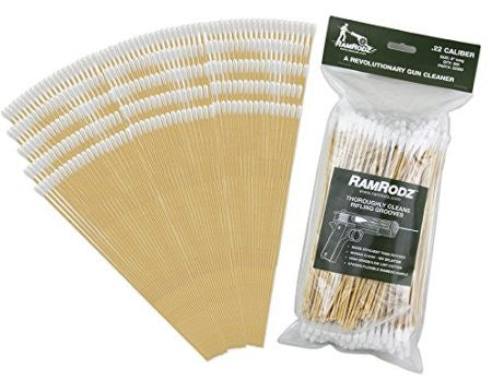 RamRodz .22/.223/5.56 Caliber Gun Cleaning Swabs - 2 Pack (600 Quantity) Free Shipping