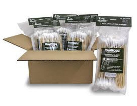 RamRodz .50/500 Caliber Gun Cleaning Swabs - 6 Pack (450 Quantity) Free Shipping