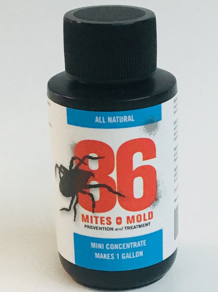 86 Mites and Mold NorCal Plant Nutrients 2 oz Mini Concentrate (Makes 1 Gallon)