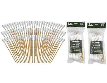 RamRodz .50/500 Caliber Gun Cleaning Swabs - 2 Pack (150 Quantity) Free Shipping