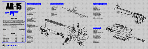 Ar 15 Exploded Diagram Poster Trusted Wiring Diagrams