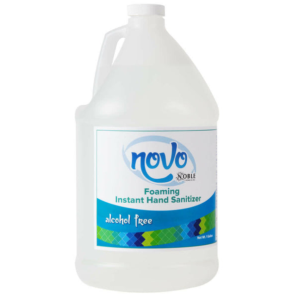 Noble Chemical Novo 1 Gallon / 128 oz. Alcohol-Free Foaming Instant Hand Sanitizer