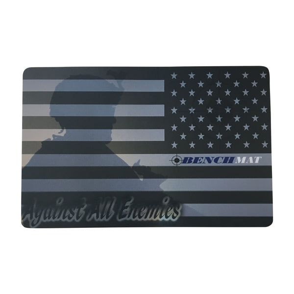 "Defender Gun Cleaning Mat 11""x17""x3mm American Flag  Free Shipping"