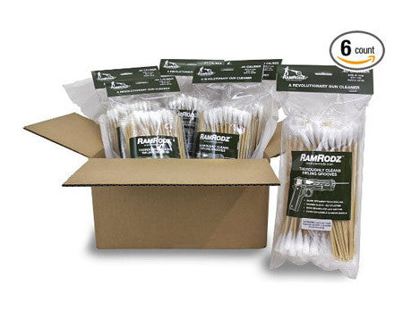 RamRodz Master Set Gun Cleaning Swabs - 6 Pack (1725 Quantity) Free Shipping