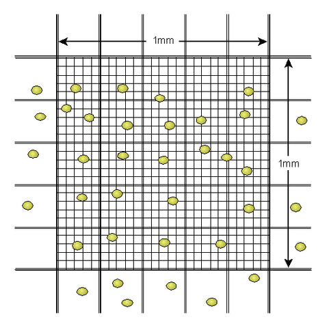 Bayesian cell counting