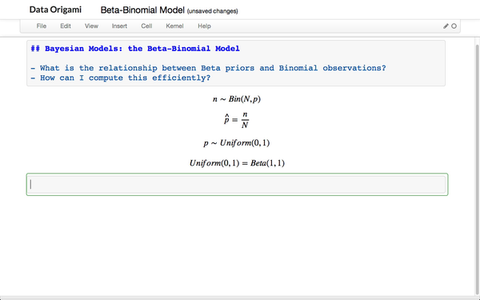 Bayesian Beta-Binomial Model
