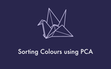 Sorting Colours using PCA