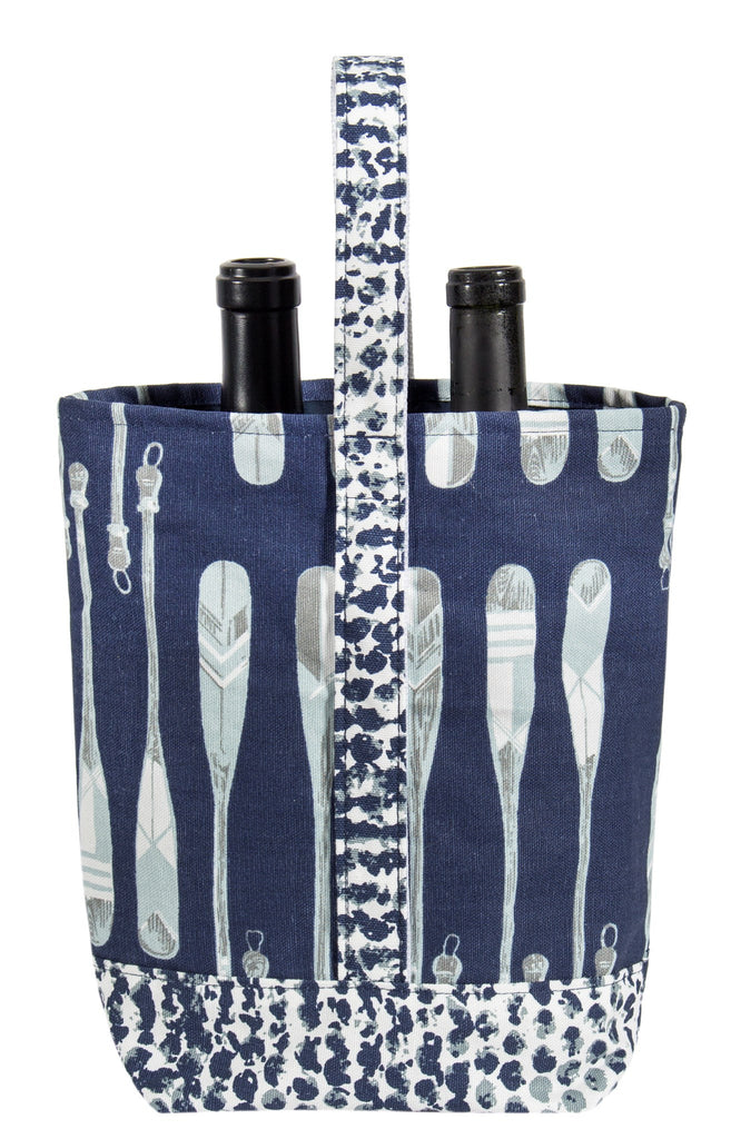 Paddle double Wine Tote