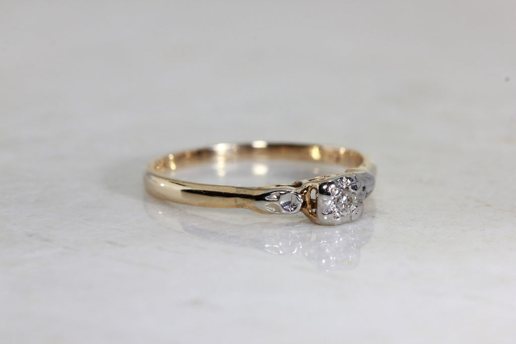Illusion Top Engagement Rings