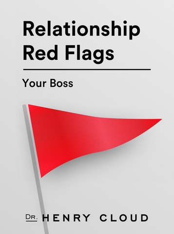Relationship Red Flags - In The Office - Your Boss