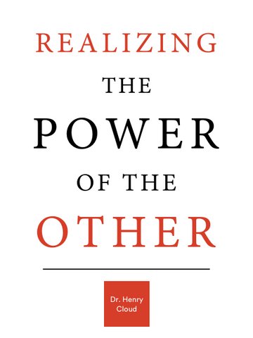 Realizing the Power of the Other