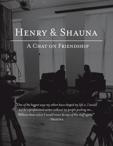 FREE CONTENT - Magazine Featuring my chat on Friendship with Shauna Niequist