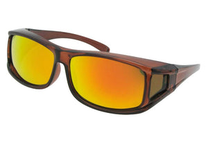 Style F11 Polarized Mirror Over Glasses