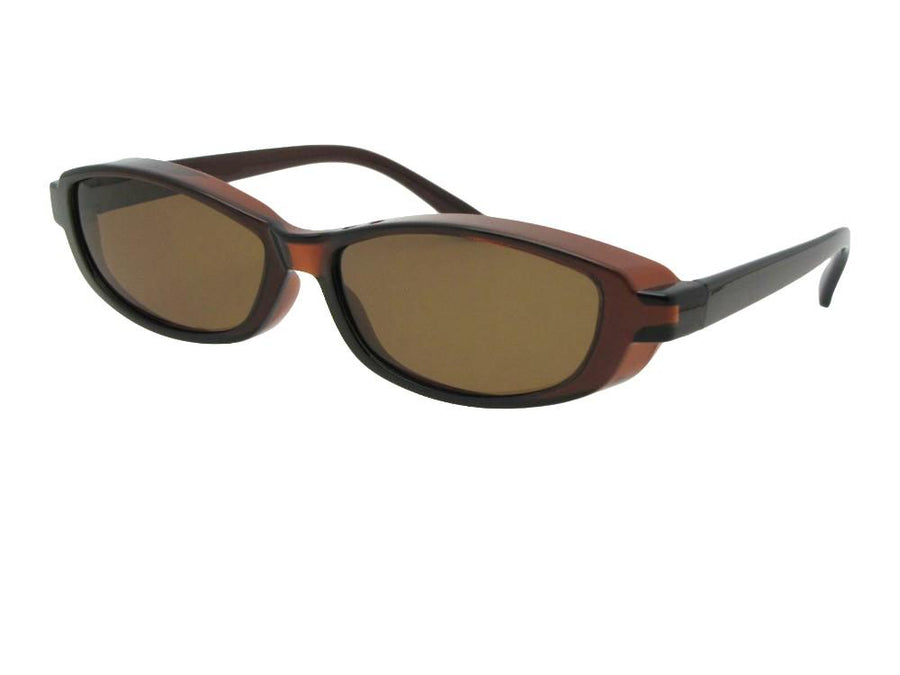 Style F13 Smallest Sunglasses Over Glasses
