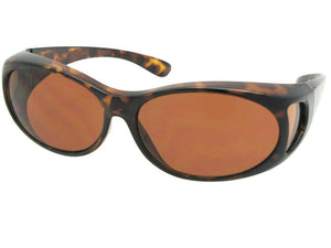 Style F3 Small Non Polarized Over Glasses Tortoise Non Polarized Amber Lenses