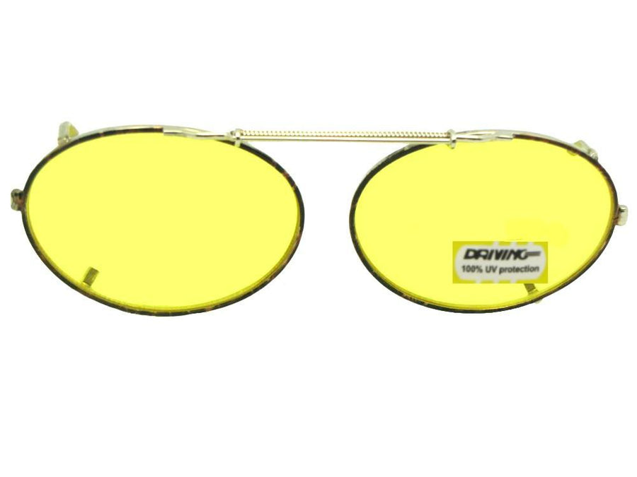 Oval Yellow Lenses