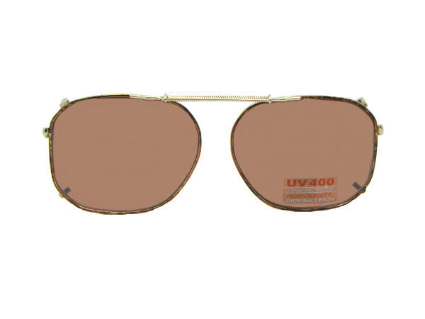Modified Aviator Non Polarized Amber