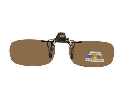 Skinny Curve Rectangle Polarized Flip Up