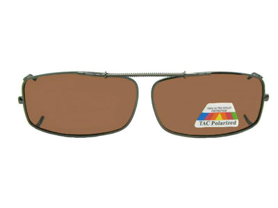 Extra Skinny Rectangle Polarized Amber