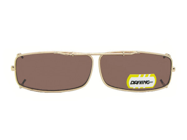 Extra Skinny Rectangle Non Polarized Amber