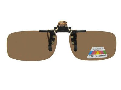 Flip-up Slim Rectangle Polarized