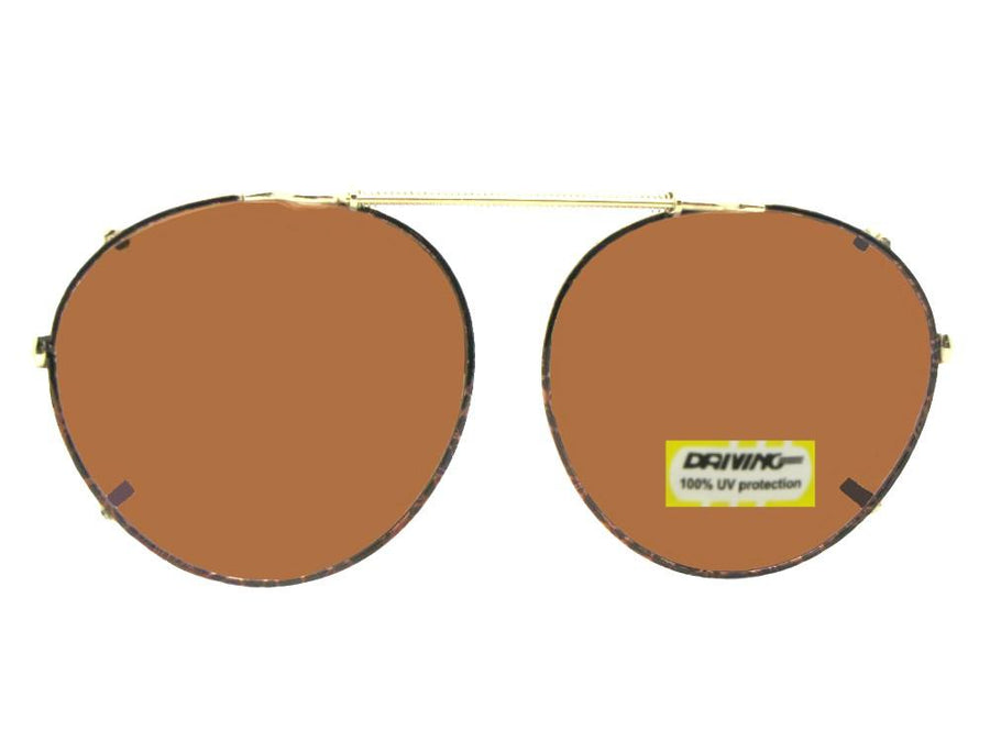 Semi Round Non Polarized Amber
