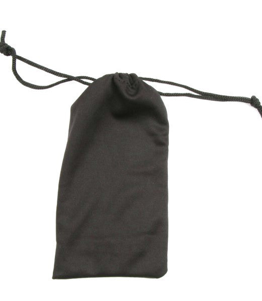 Standard Black Fabric Pouch