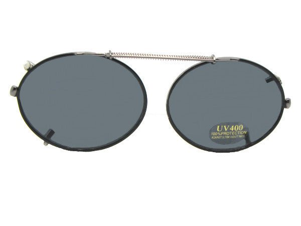 Round Oval Clip-on Non Polarized