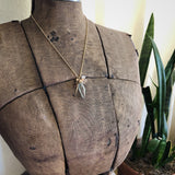 Phantom Quartz Needle Necklace