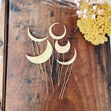 Rustic Crescent Hair Pin