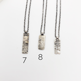 Reticulated Tag Necklaces