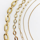 Heavy 24k Gold Chain Necklaces