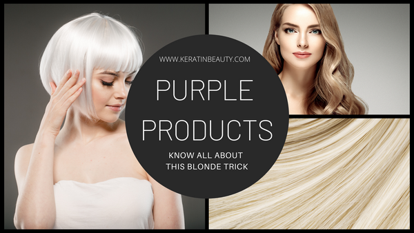 Purple Products: Know all about this blonde trick