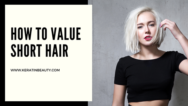 How to value short hair
