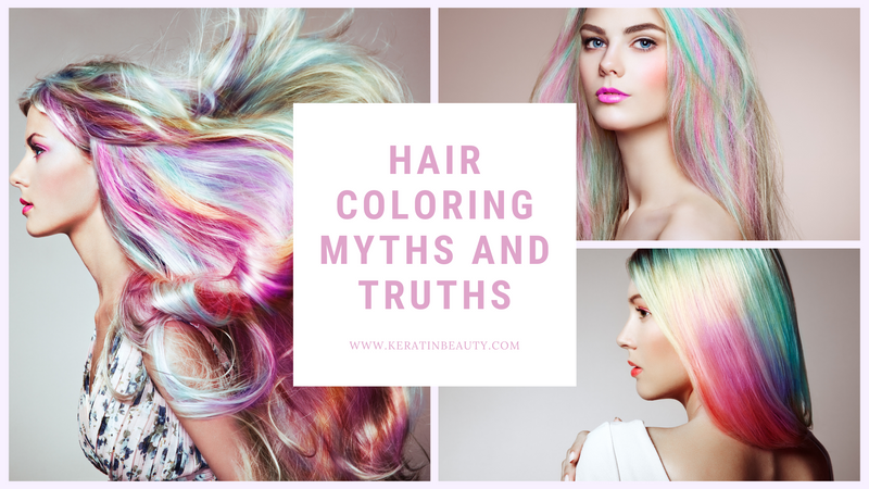 Hair Coloring Myths and Truths