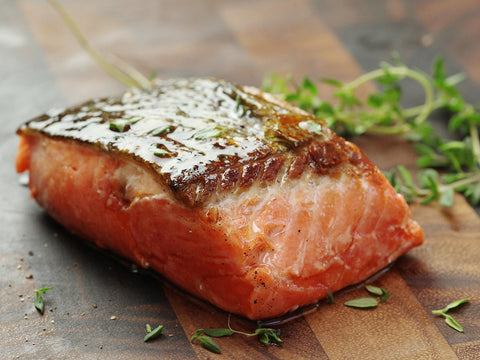 Salmon to help hair healthy