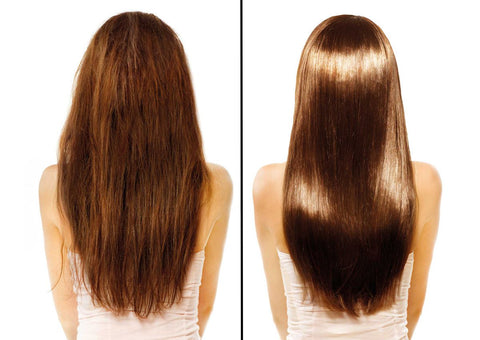 Hair btox treatment results
