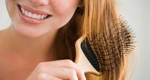 Comb your hair gently and always