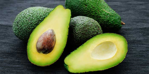 Avocado is good for hair brightness