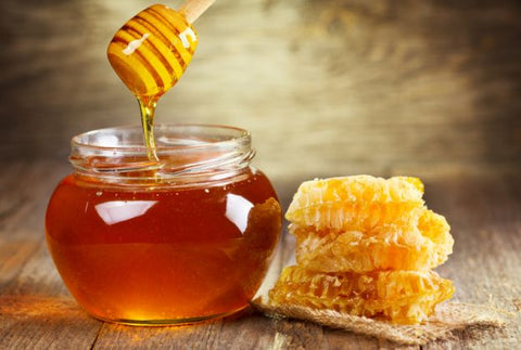 Honey is good for hair brightness