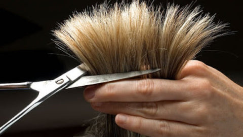 How to cut your hair alone