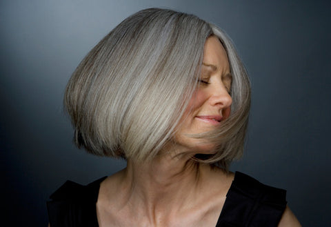 Learn how to take care of your gray hair!