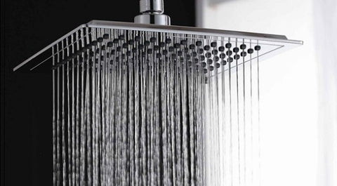 The temperature of shower water can harm or help your hair