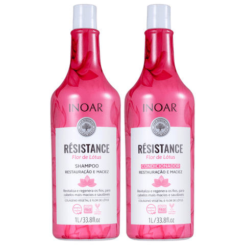 Inoar Résistance Flor de Lotus Kit 2 x 1000ml